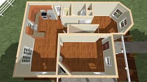 2s101 glenco inc two story home birds eye rendering floor 2