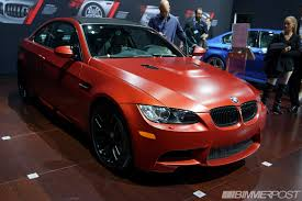 matte red bmw nyias 2013 bmw individual frozen red e92 m3 coupe