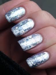 tutorial nail art foil foil nail designs