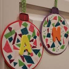 easy ornament craft for precut and run all of the