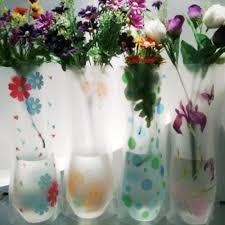 online get cheap plastic flower vases wholesale aliexpress com
