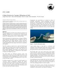 a new solution for tandem offloading of lng pdf download available