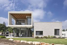Modern Home Living by Modern Home In Israel Puts Open Living Spaces At The Forefront