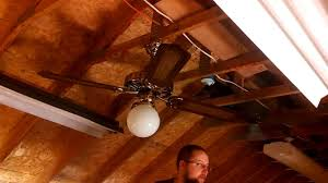 Manufacturers Of Ceiling Fans Smc Shell Manufacturing Company Model A52 Ceiling Fan Youtube