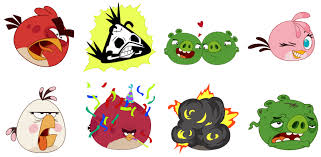 angry birds stickers sociobits
