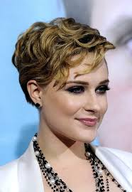 the rachel haircut 2013 evan rachel wood layered short wavy hairstyle hairstyles weekly