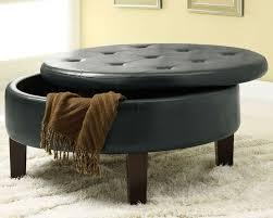 Ottoman Circle Furniture Chicago For Storage Ottoman