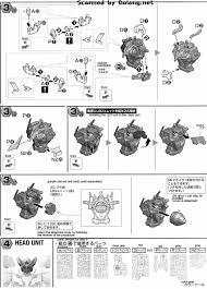 mg gundam exia dark matter english manual u0026 color guide mech9