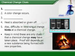 chemical physical properties and changes u2013 chemistry lesson
