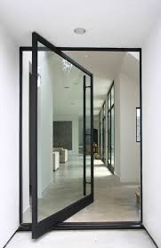 entrance glass door architecture amazing entrance way with two side glass doors