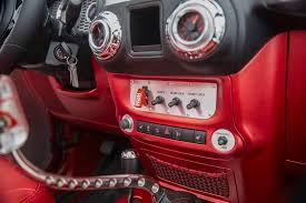 jeep red interior jeep quicksand concept quadratec