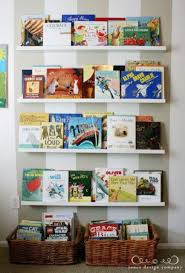 Kid Bookshelves by 29 Ideas To Use Ikea Ribba Ledges Around The House Digsdigs
