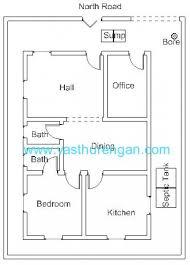 2 Bedroom House Plans Vastu Vastu Plan For North Facing Plot 3 Vasthurengan Com