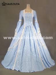 light blue long sleeve dress 2016 elegant light blue long sleeve lace 17th 18th century
