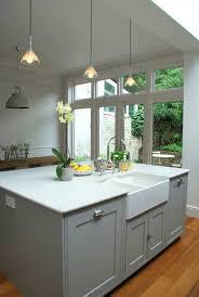 sink island kitchen modern country kitchen island in the modern house
