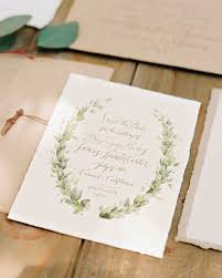 Rolling Wedding Invitation Cards An Ethereal Wedding In The Woods Of California Martha Stewart