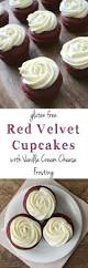 these gluten free red velvet cupcakes are moist and delicious
