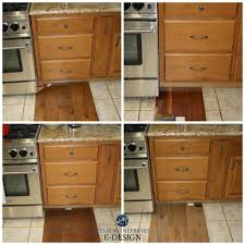 stained kitchen cabinets with hardwood floors how to mix match and coordinate wood stains undertones
