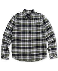Flannel Shirts O Neill S Redmond Flannel Shirt Casual Button Shirts