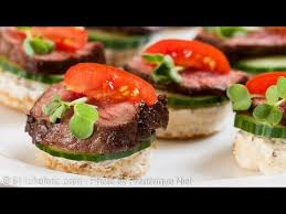 beef canape recipes beef tenderloin canapés