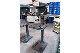 Pedestal Drill Enco Model 126 2225 22 U0027 U0027 Pedestal Drill Press With 16 U0027 U0027 X 19