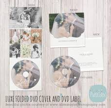 wedding luxe dvd case and label photoshop template dw003 wedding