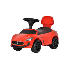red maserati maserati ride on kids push sports sports car red