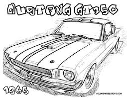 car coloring ford cars free sheets mustangs 374104 coloring