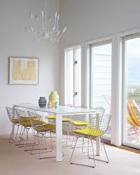 Bertoia Dining Chair Modern Classics The Bertoia Side Chair Apartment Therapy