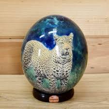 painted ostrich eggs for sale ostrich egg sw3260 for sale at safariworks taxidermy sales