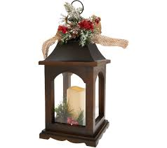 flameless candles home garden qvc com plow hearth 17