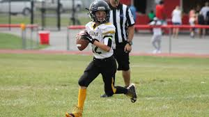 11 years old that has highlights at the bottom of their hair 11 year old 5th grade hfl quarterback qb matt meacham 2016