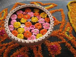 flowers decoration at home lighten up homes with diwali floating flowers decoration ideas