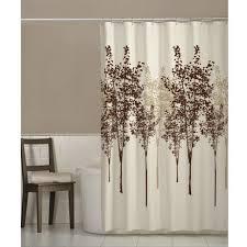kitchen curtain ideas yellow fabric curtains amazon com maytex owl fabric shower curtain home