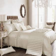 bedroom white shabby chic bedding linoleum table lamps floor