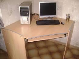 bureau informatique en bois bureau informatique ordinateur clasf