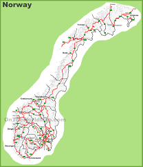 Map Of Norway Norway Maps Maps Of Norway
