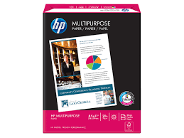paper ream box hp multipurpose paper 5 reams letter 8 5 x 11 in hp official store