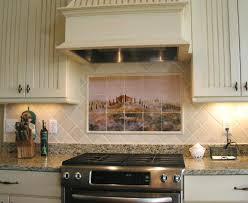 rustic kitchen backsplash rustic kitchen tile kitchens with rustic themed backsplash my