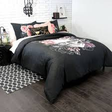Pink And Black Duvet Set Buy Charcoal Duvet Cover King From Bed Bath U0026 Beyond