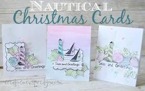 nautical christmas cards creativemeinspiredyou