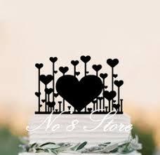 Heart Wedding Cake Discount Love Heart Wedding Cake Toppers 2017 Love Heart Wedding