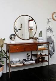 Entryway Mirrors Mid Century Modern Mirrors Sunburst Mirror Mid Century Modern