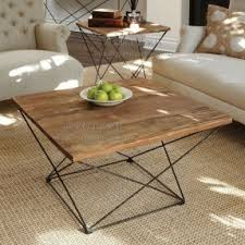 Old Wooden Coffee Tables by Wrought Iron Wood Coffee Table Hollywood Thing