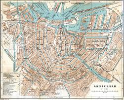 Map Of Amsterdam File Baedeker Amsterdam 1905 Jpg Wikimedia Commons