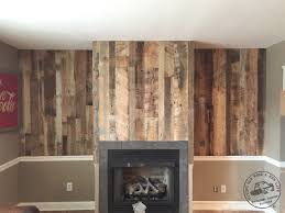 Barnwood Wall Shelves Accent Wall Paneling Idaho Barn Wood Blend Reclaimed Lumber