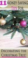 11 money saving tips for decorating a christmas tree