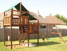 adventurer swing set fort kits u0026 plans 5ft 7ft high deck