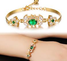 ladies bracelet design images New arrival zircon bangle gold filled bracelets ladies gold jpg