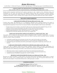 salesman resume exles excellent car salesman resume exle car sales resume sle